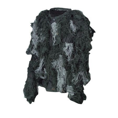 Tenue Complete Camouflage Ghillie Suit Ignifugé Nightfighter Noire MilTec