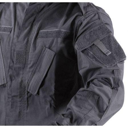 Tenue Complète Uniforme (Veste + Pantalon) ACU Camouflage Noir