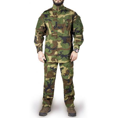 Tenue Complète Uniforme (Veste + Pantalon) ACU Camouflage Woodland