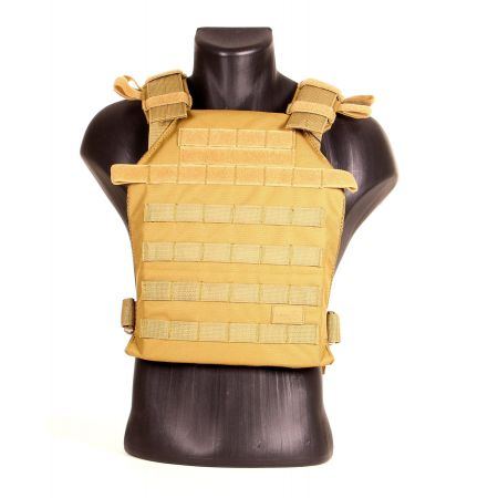 Veste Plate Carrier JPC Lightweight Molle Lancer Tactical - Tan