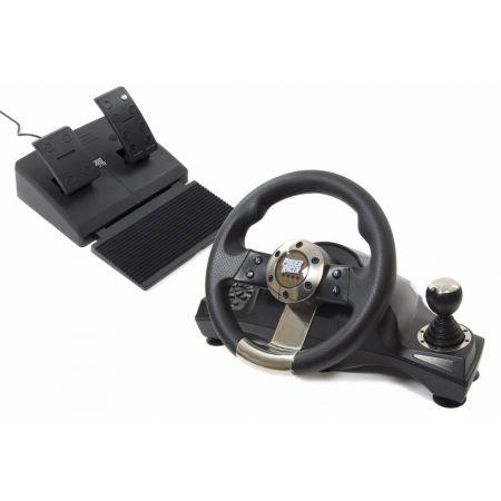 Volant + Pedalier Sans Fil Avec Retour de Force Datel - Power Racer 270