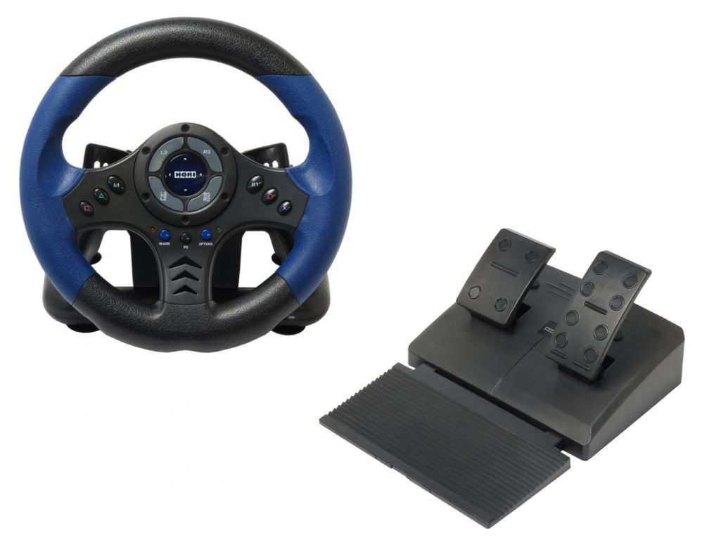 volant ps4 ps3 racing wheel hori officiel sony ps4 020e je. Black Bedroom Furniture Sets. Home Design Ideas