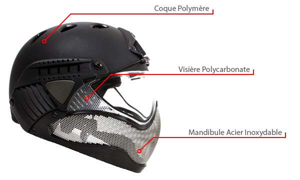 casque warq protection integrale od materiaux de conception polymere metal polycarbonate airsoft 1 optimized