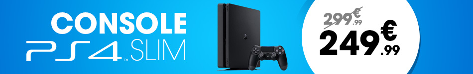 console ps4 slim offre 250 euros 150