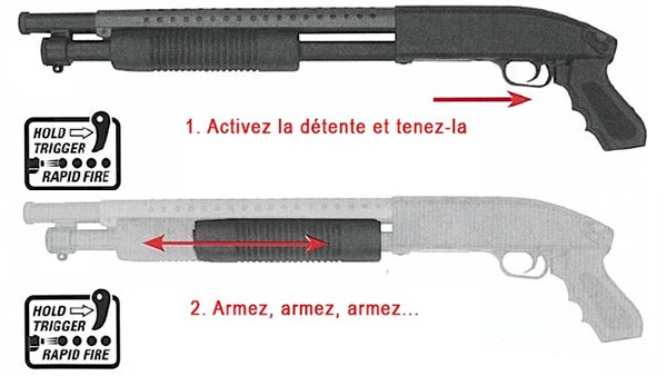 Fusil-a-pompe-M590-court-spring-metal-&-ABS-saigo-defense-noir-2