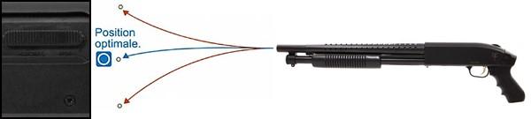 Fusil-a-pompe-M590-court-spring-metal-&-ABS-saigo-defense-noir-4