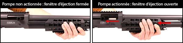 fusil a pompe secutor velites v ferrum s series spring grey sav0024 fenetre d ejection airsoft 1 optimized