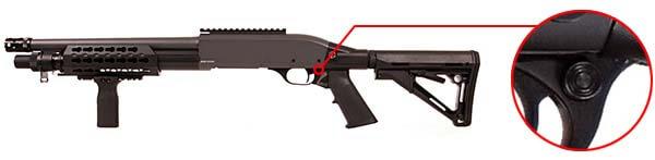 fusil a pompe secutor velites v ferrum s series spring grey sav0024 securite airsoft 1 optimized