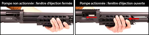 fusil a pompe secutor velites v ferrum s series spring olive sav0025 fenetre d ejection airsoft 1 optimized