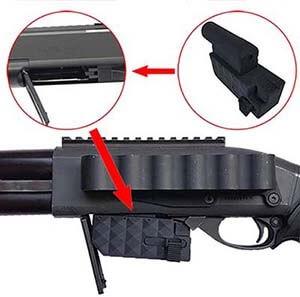 fusil a pompe shotgun secutor velites g vi m870 gaz noir sav0003 adaptateur elements airsoft 1