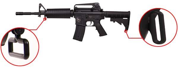 fusil armalite carbine m15 a4 m4a1 sportline aeg noir 17356 attache sangle airsoft 1 optimized