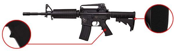 fusil armalite carbine m15 a4 m4a1 sportline aeg noir 17356 confort airsoft 1 optimized
