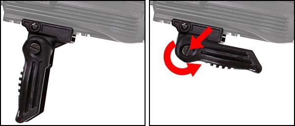 fusil arsenal ar m7t m4 ak47 aeg electrique asg noir 19056 poignee verticale airsoft 1