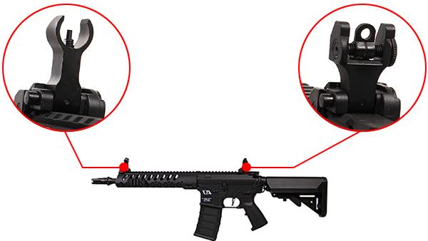 fusil ca4 delta 10 classic army noir organes