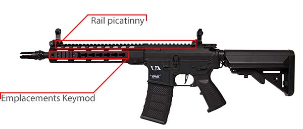 fusil ca4 delta 12 classic army noir 7