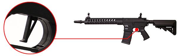 fusil ca4 delta 12 classic army noir da tente