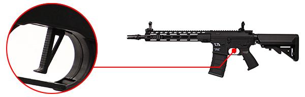 fusil ca4 mlok 12 classic army noir 7
