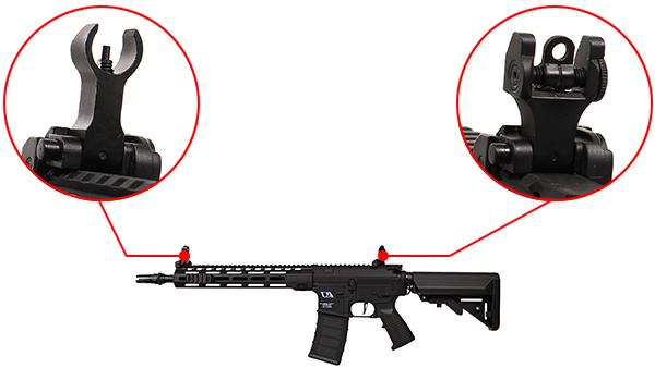 fusil ca4 mlok 12 classic army noir 8