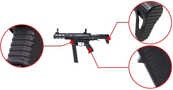 fusil ca nemesis x9 aeg smg full metal classic army noir ca1119m confort airsoft 1 optimized