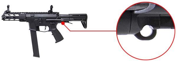 fusil ca nemesis x9 aeg smg full metal classic army noir ca1119m fixation sangle airsoft 1 optimized