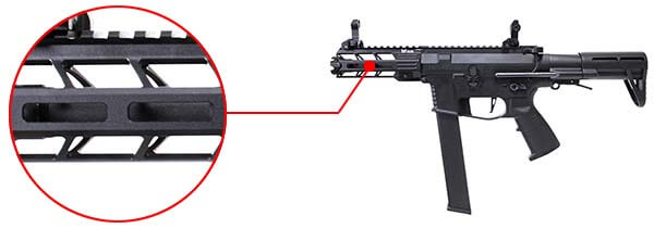 fusil ca nemesis x9 aeg smg full metal classic army noir ca1119m m lok airsoft 1 optimized