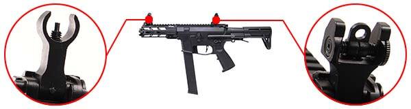 fusil ca nemesis x9 aeg smg full metal classic army noir ca1119m organes de visee airsoft 1 optimized