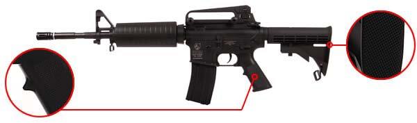 fusil carbine colt m4a1 m4 a1 electrique aeg noir 180800 confort airsoft 1 optimized
