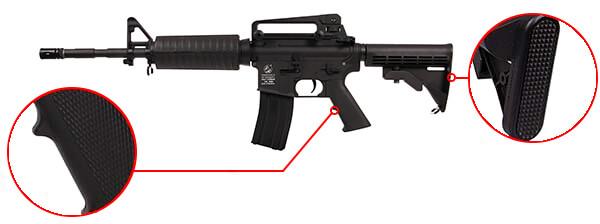 fusil colt m4 a1 aeg full metal noir 180865 1