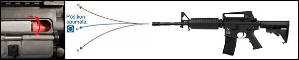 fusil colt m4 a1 aeg full metal noir 180865 2