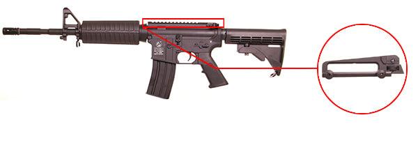 fusil colt m4 a1 aeg full metal noir 180865 3