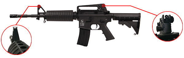 fusil colt m4 a1 aeg full metal noir 180865 6