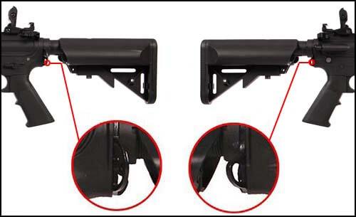 fusil colt m4 special forces aeg polymere noir 180861 attache sangle airsoft 1 optimized