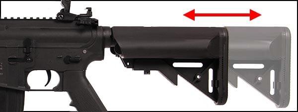 fusil colt m4 special forces cqb aeg full metal noir 180867 4 optimized