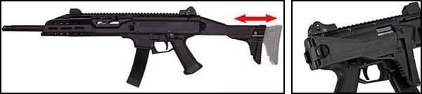 fusil cz scorpion evo 3a1 3 a1 carbine ceska zbrojovka aeg asg 18673 crosse ajustable airsoft 1 optimized