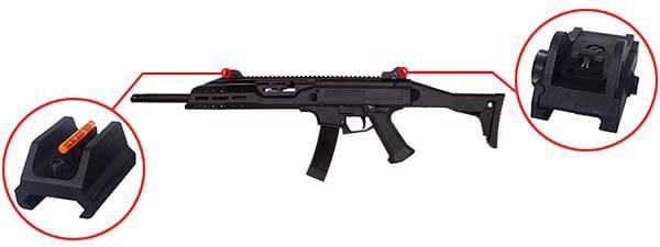 fusil cz scorpion evo 3a1 3 a1 carbine ceska zbrojovka aeg asg 18673 organes de visee airsoft 1 optimized