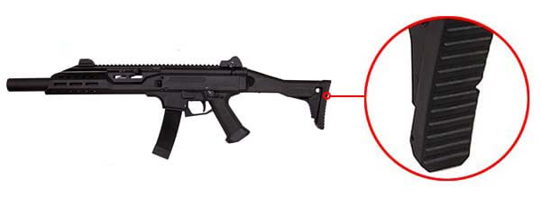 fusil cz scorpion evo 3a1 carbine bet aeg asg silencieux 18694 crosse airsoft 1 optimized