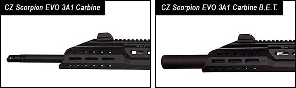 fusil cz scorpion evo 3a1 carbine bet aeg asg silencieux 18694 silencieux integre airsoft 1 optimized
