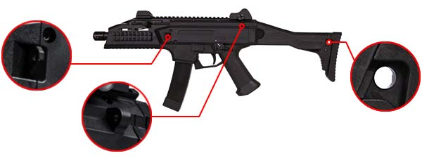 fusil cz scorpion evo 3a1 ceska zbrojovka aeg 17831 fixation sangle airsoft 1 optimized