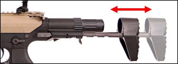 fusil dmr legion rapax xxi m2 aeg secutor tan et noir sax0002 crosse airsoft 1 optimized