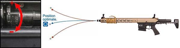 fusil dmr legion rapax xxi m2 aeg secutor tan et noir sax0002 hop up airsoft 1 optimized
