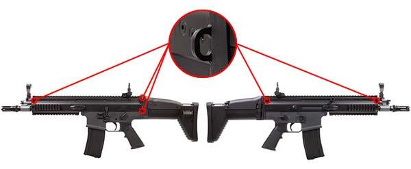 fusil fn herstal scar scar l sportline aeg electrique noir 200961 attache sangle airsoft 1 optimized