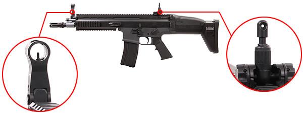 fusil fn herstal scar scar l sportline aeg electrique noir 200961 organes de visee airsoft 1 optimized