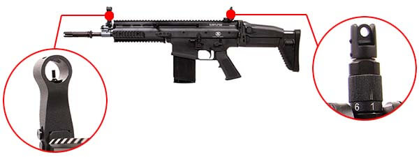 fusil fn scar h mk17 open bolt gbbr gaz blowback vfc noir 200551 organes de visee airsoft 1 optimized