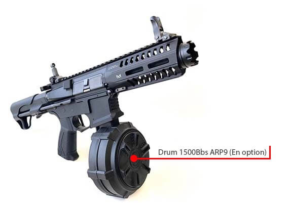 fusil gg cm16 ump arp9 cqb aeg pdw guay guay battleship grey drum airsoft 1 optimized