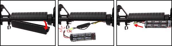 fusil gg m4a1 carbine cm16 aeg electrique guay guay noir batterie airsoft 1 optimized