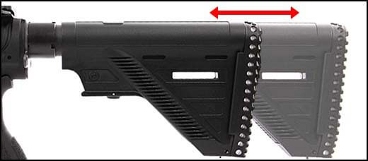 fusil heckler koch hk416 a5 v2 aeg umarex vfc noir 26391x crosse reglable airsoft 1 optimized