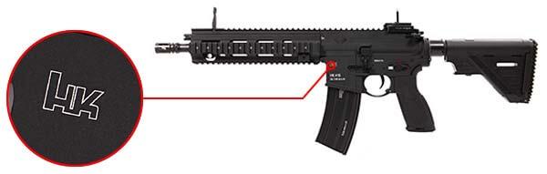 fusil heckler koch hk416 a5 v2 aeg umarex vfc noir 26391x logo hk airsoft 1 optimized