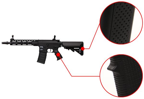 fusil m4 ca4 mlok 10 pouces noir classic army 5