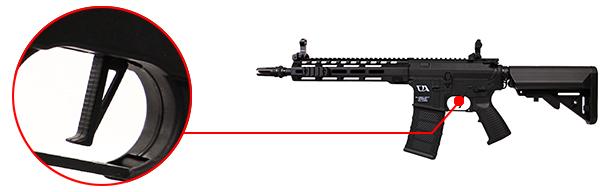 fusil m4 ca4 mlok 10 pouces noir classic army 6