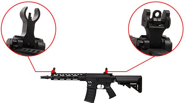 fusil m4 ca4 mlok 10 pouces noir classic army 7